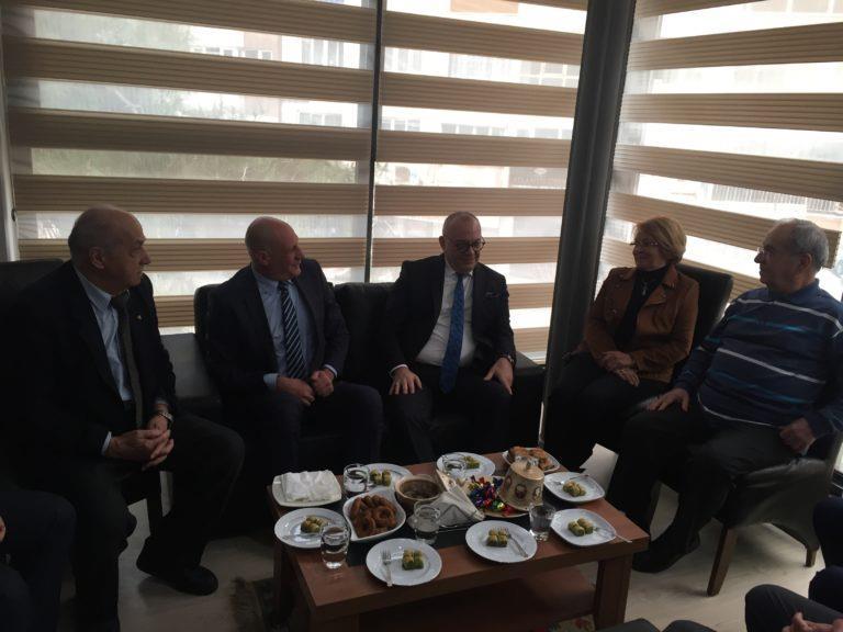 Başkan Ergün'den Mesir Derneği'ne Ziyaret