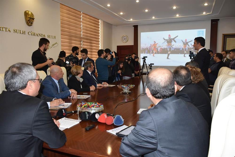 479.Uluslararası Manisa Mesir Macunu Festivali Bilgilendirme Toplantısı Yapıldı
